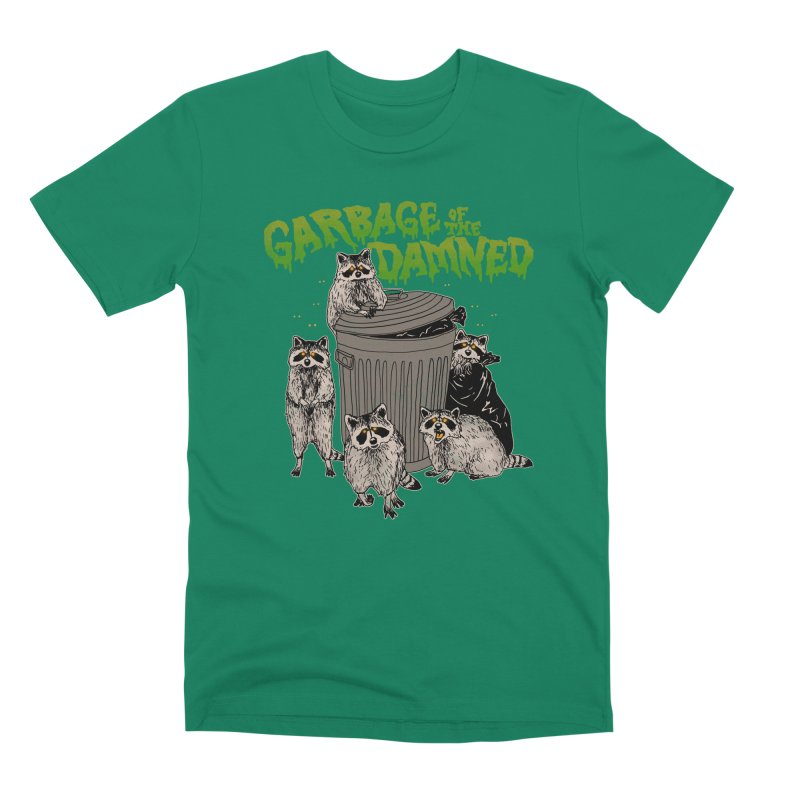 Garbage of the Damned Men's Premium T-Shirt by Hillary White