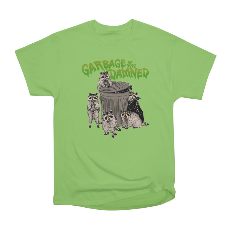 Garbage of the Damned Men's Heavyweight T-Shirt by Hillary White