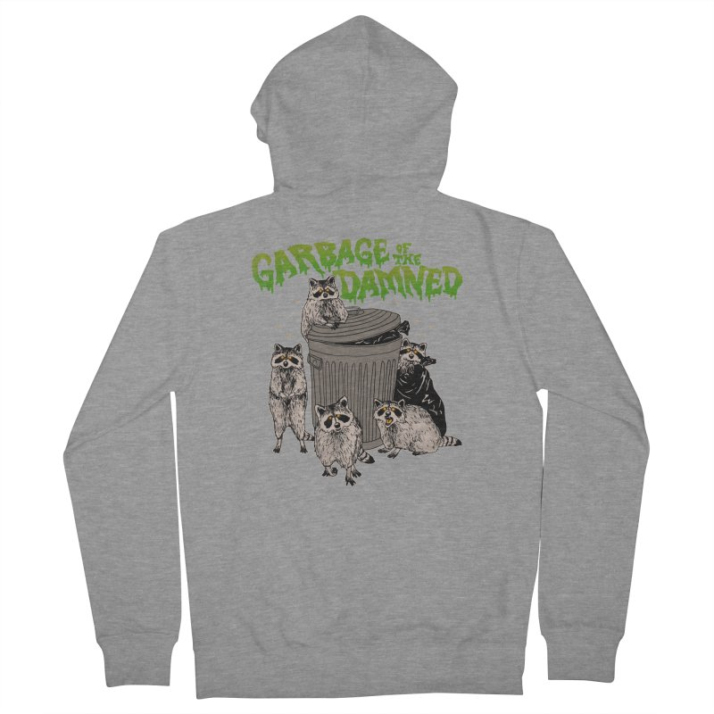 Garbage of the Damned Women's French Terry Zip-Up Hoody by Hillary White