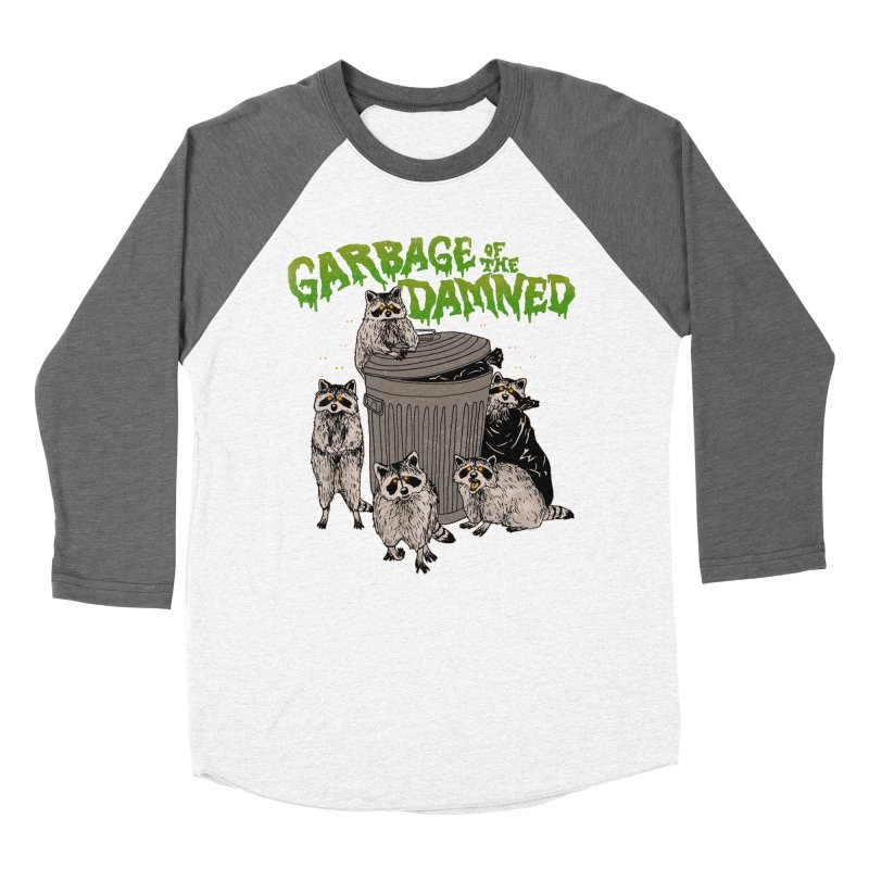 Garbage of the Damned Women's Baseball Triblend Longsleeve T-Shirt by Hillary White