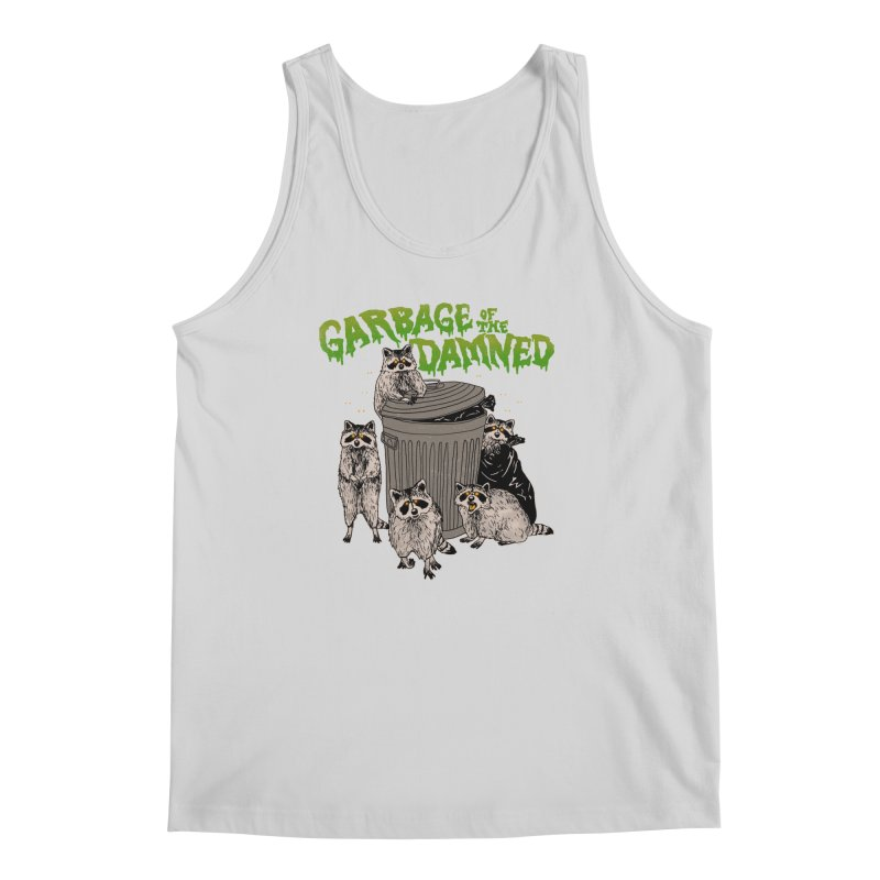 Garbage of the Damned Men's Regular Tank by Hillary White
