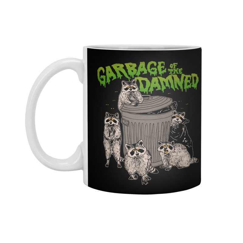 Garbage of the Damned Accessories Mug by Hillary White