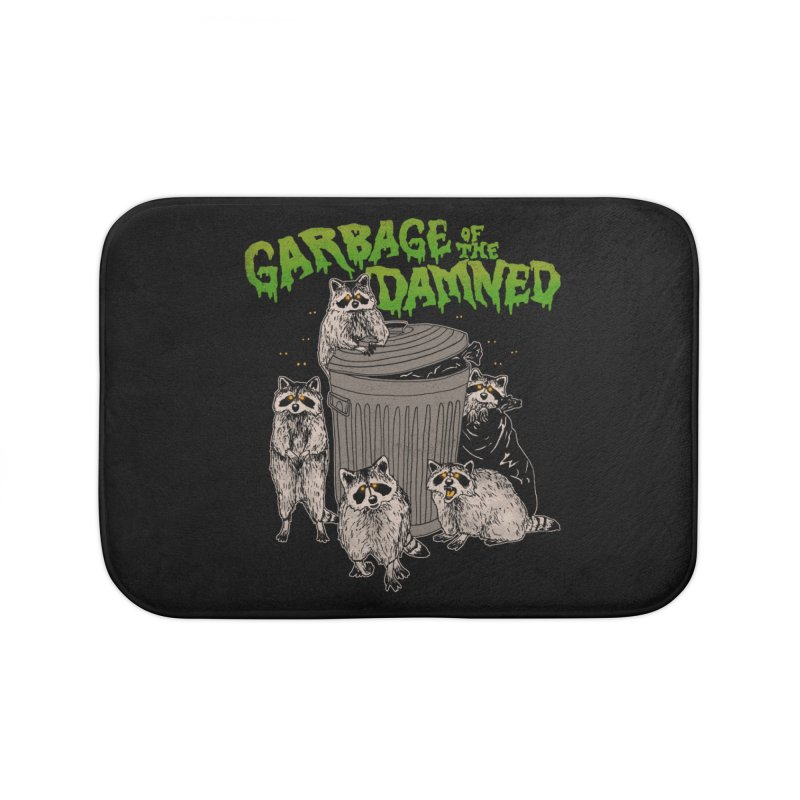 Garbage of the Damned Home Bath Mat by Hillary White