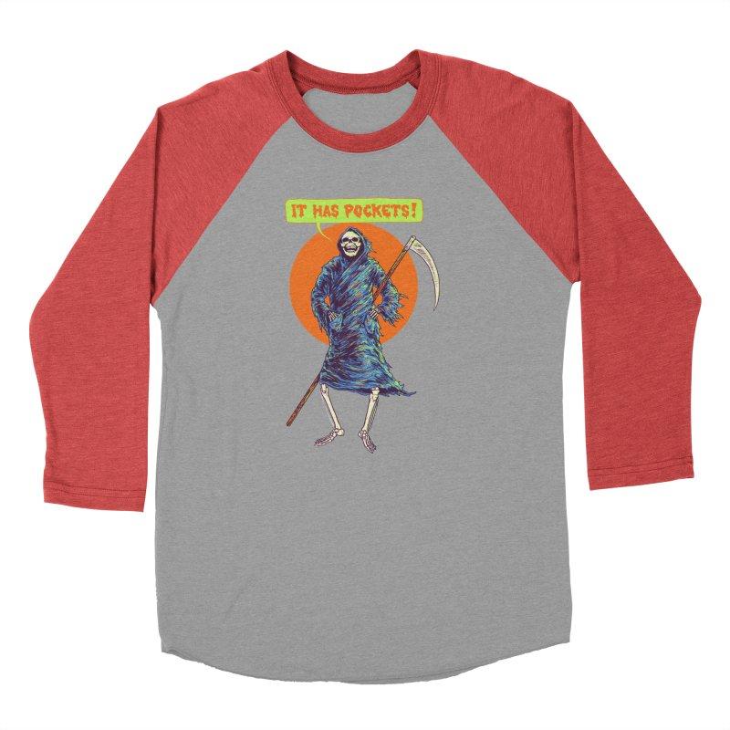 It Has Pockets Women's Baseball Triblend Longsleeve T-Shirt by Hillary White