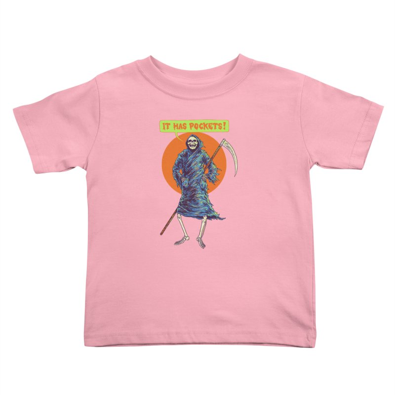 It Has Pockets Kids Toddler T-Shirt by Hillary White