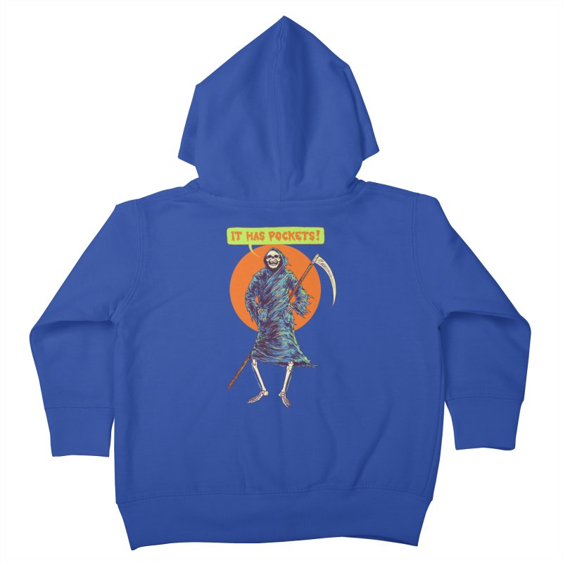 It Has Pockets Kids Toddler Zip-Up Hoody by Hillary White
