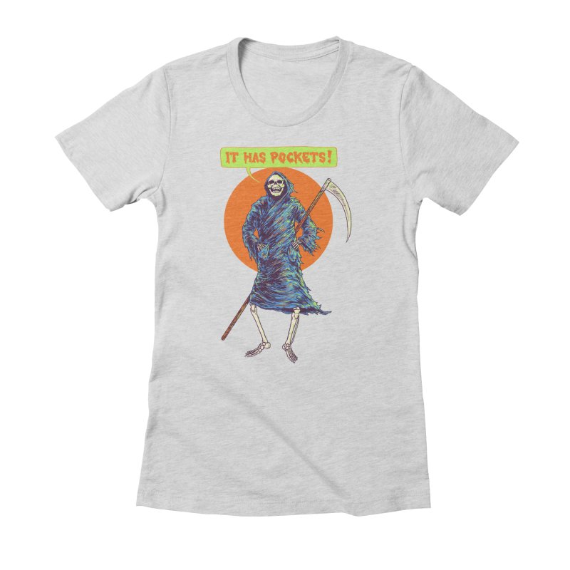 It Has Pockets Women's Fitted T-Shirt by Hillary White