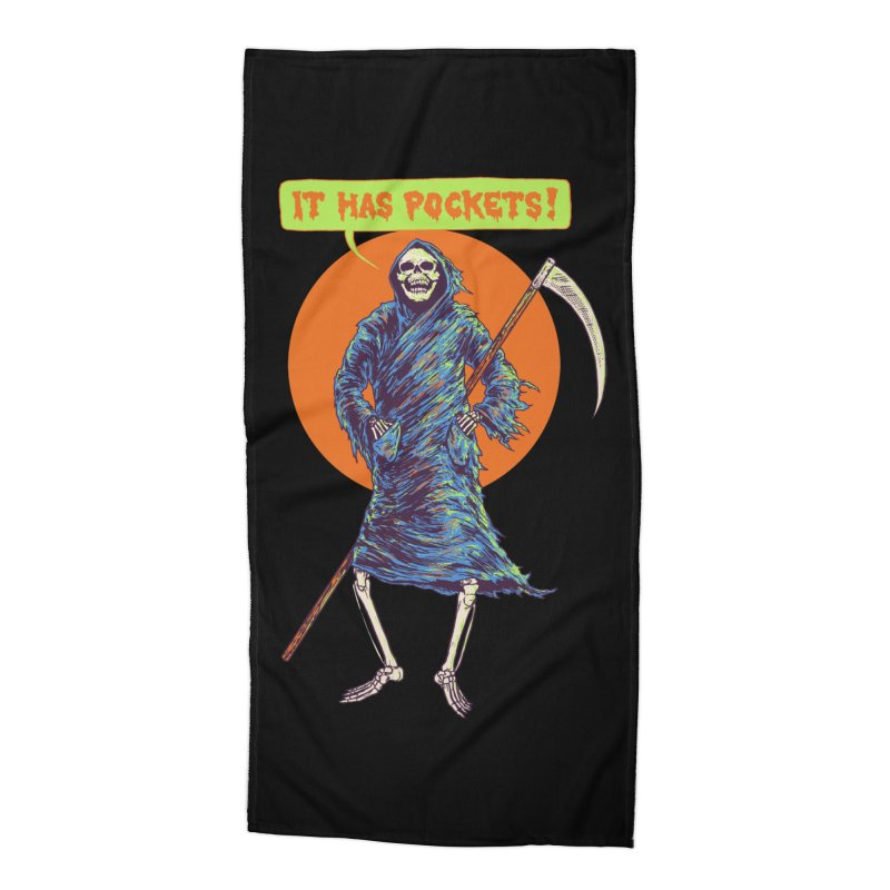 It Has Pockets Accessories Beach Towel by Hillary White