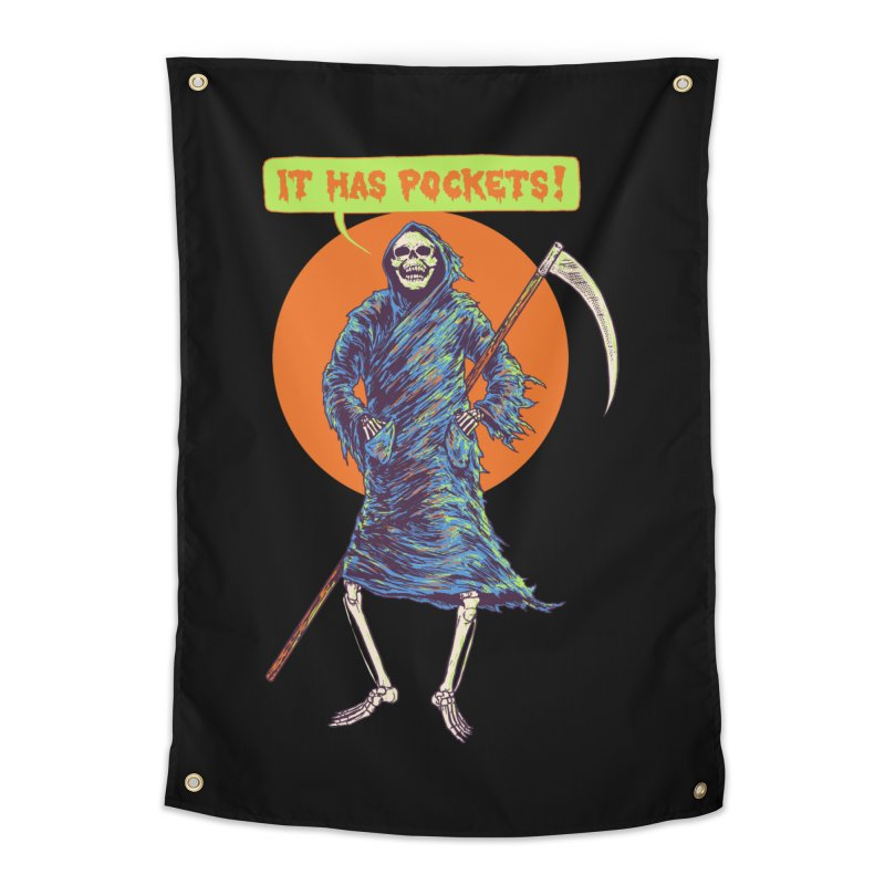 It Has Pockets Home Tapestry by Hillary White