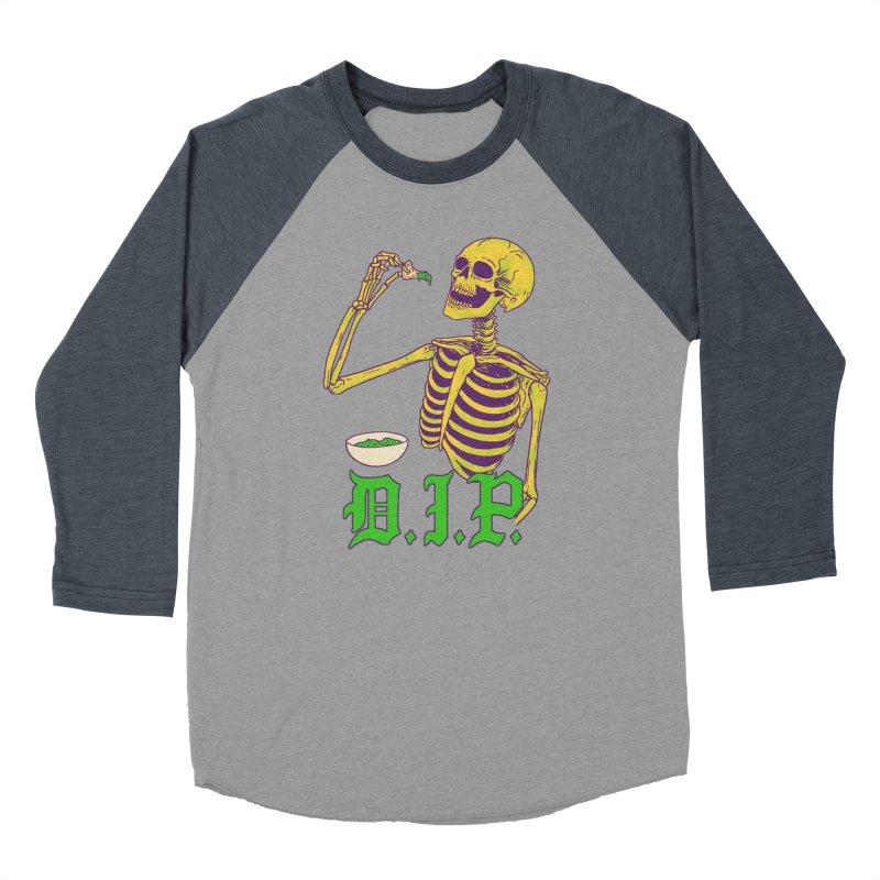 DIP Women's Baseball Triblend Longsleeve T-Shirt by Hillary White