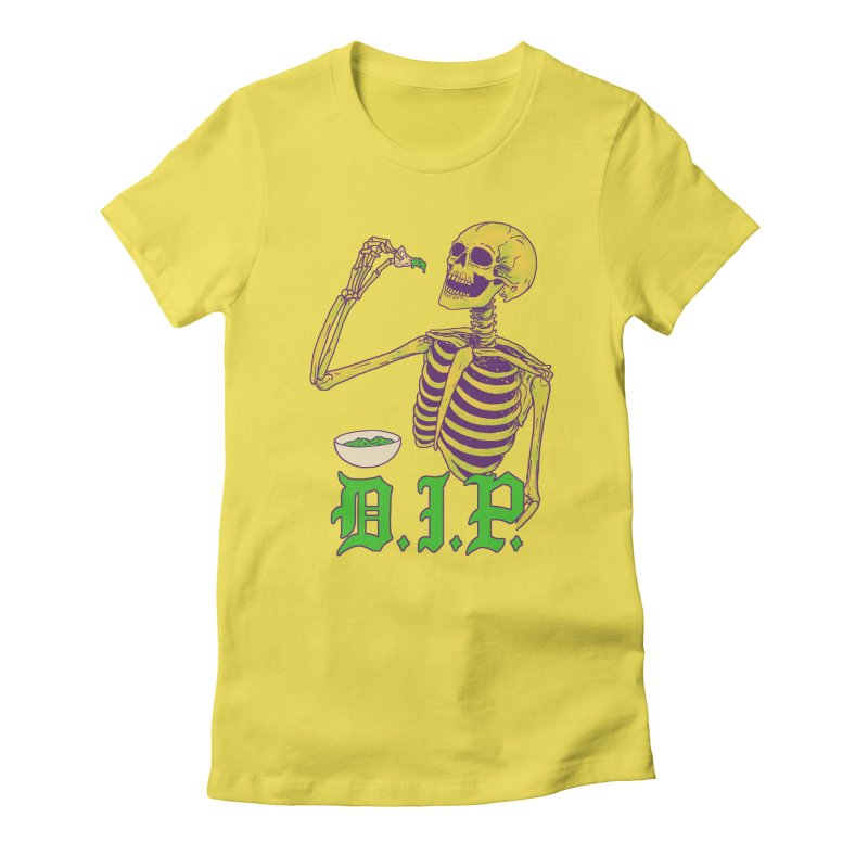 DIP Women's Fitted T-Shirt by Hillary White