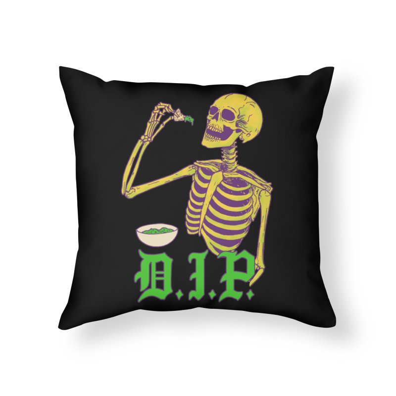 DIP Home Throw Pillow by Hillary White