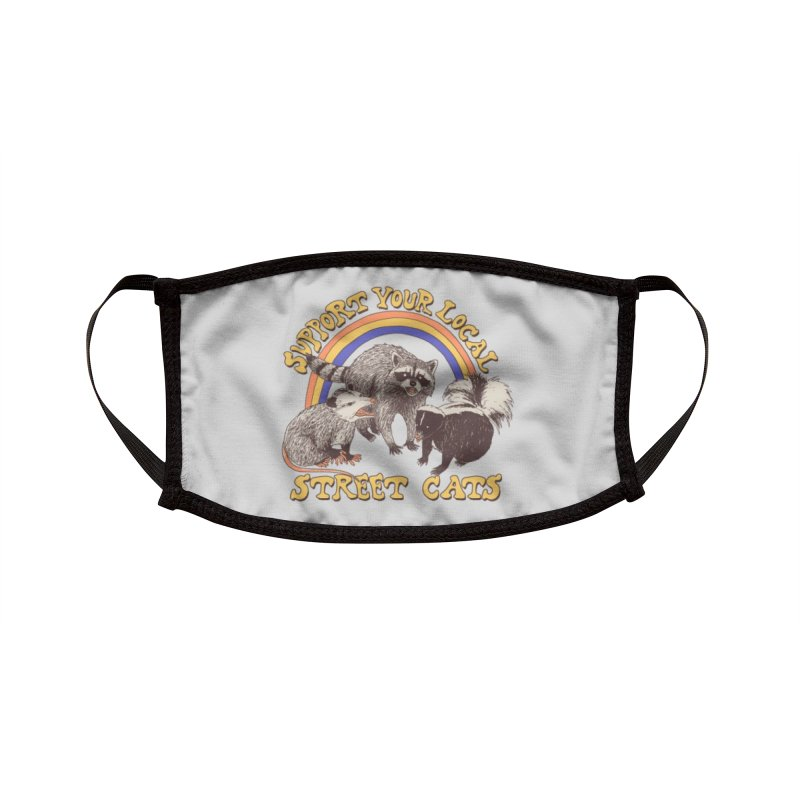 Street Cats Accessories Face Mask by Hillary White