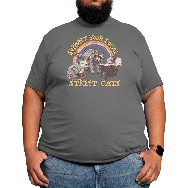 Street Cats Men's T-Shirt by Hillary White Rabbit