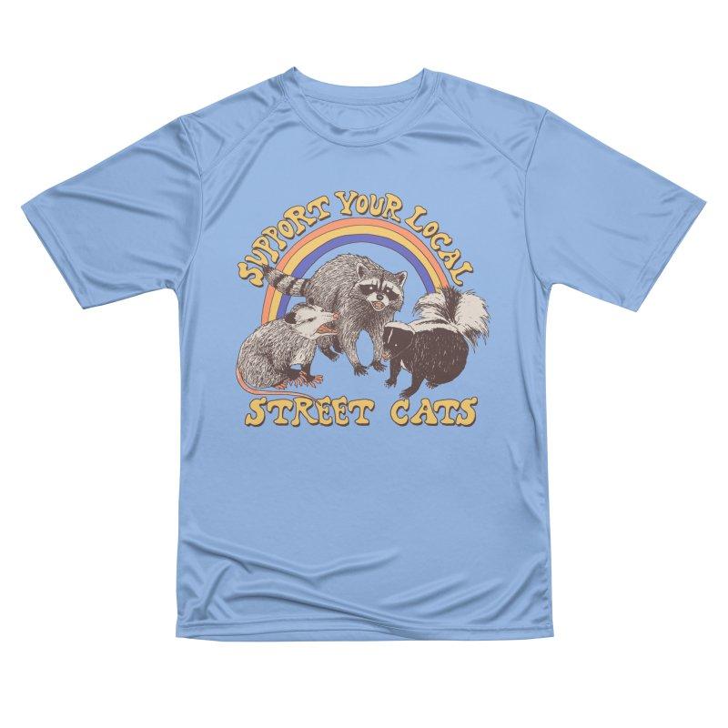 Street Cats Women's T-Shirt by Hillary White