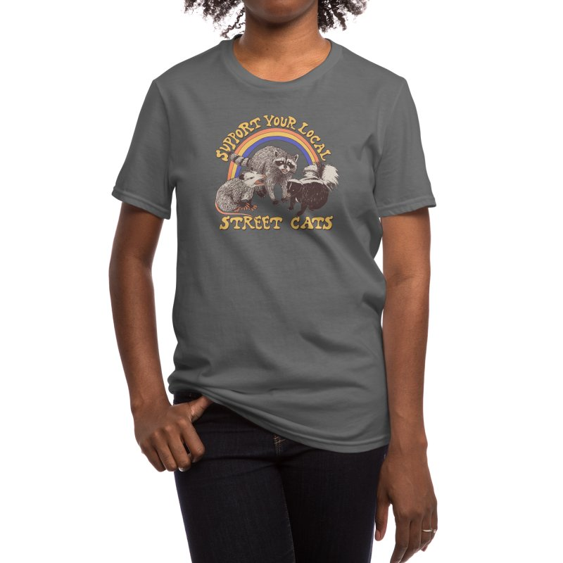 Street Cats Women's T-Shirt by Hillary White