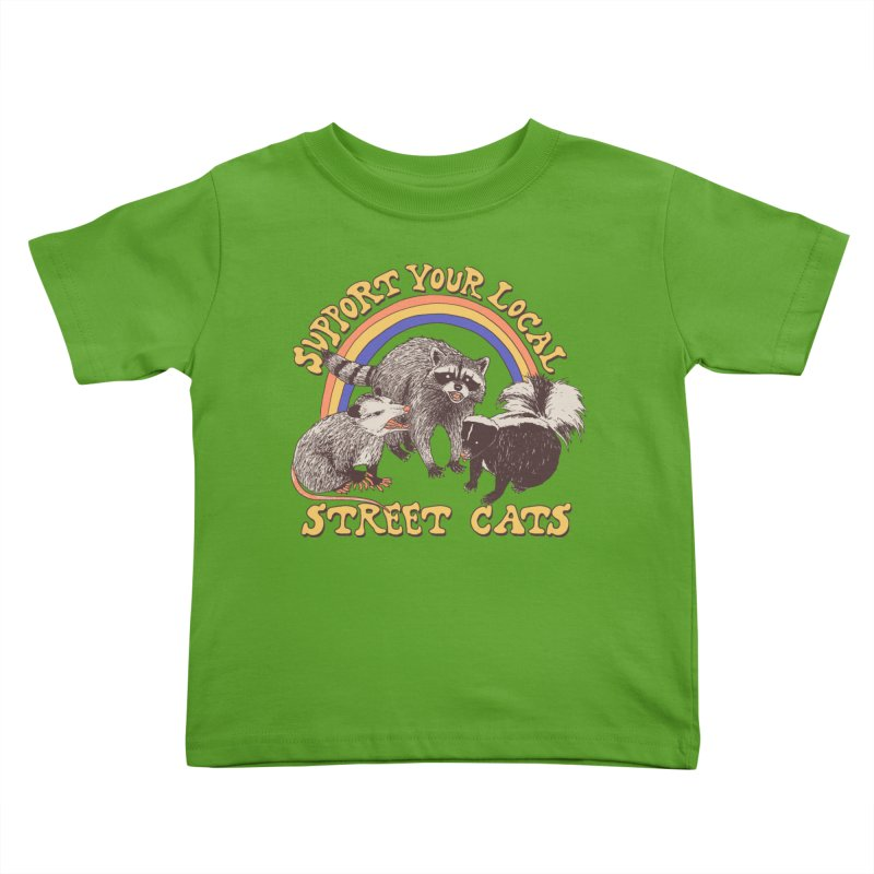 Street Cats Kids Toddler T-Shirt by Hillary White