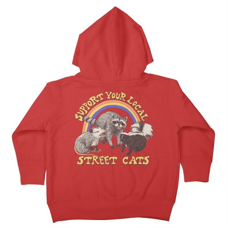 Street Cats Kids Toddler Zip-Up Hoody by Hillary White