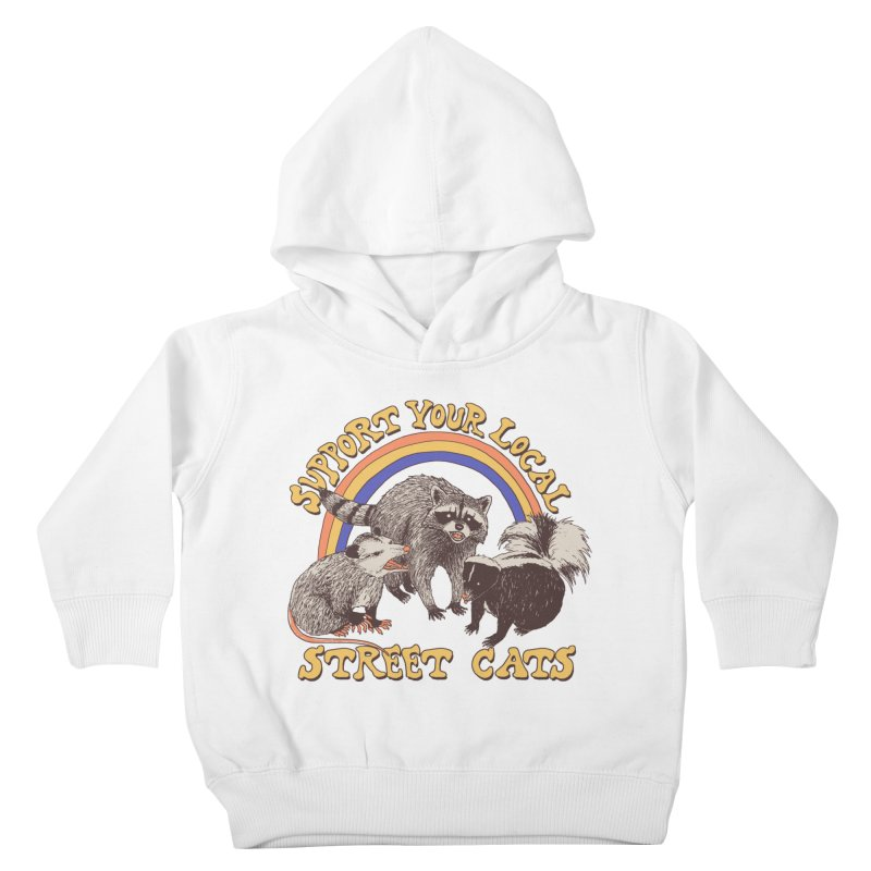 Street Cats Kids Toddler Pullover Hoody by Hillary White