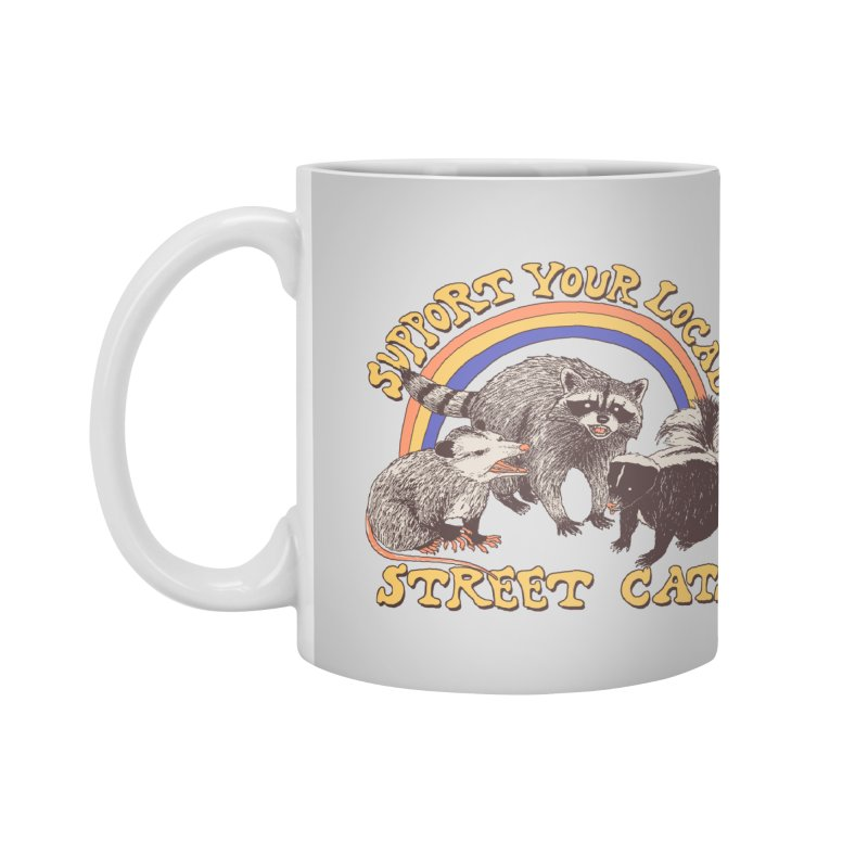 Street Cats Accessories Mug by Hillary White