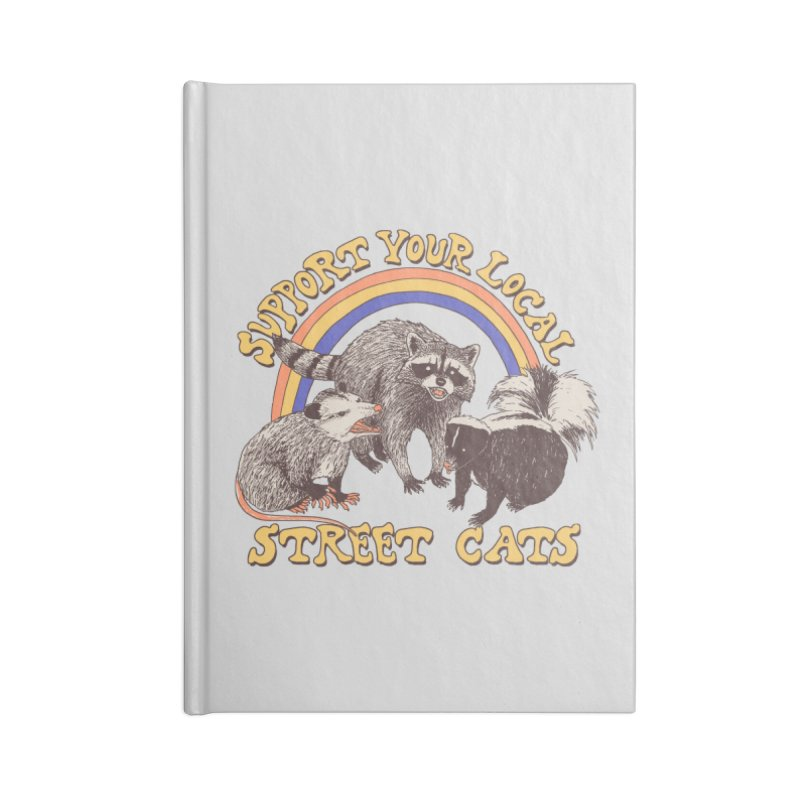 Street Cats Accessories Notebook by Hillary White Rabbit