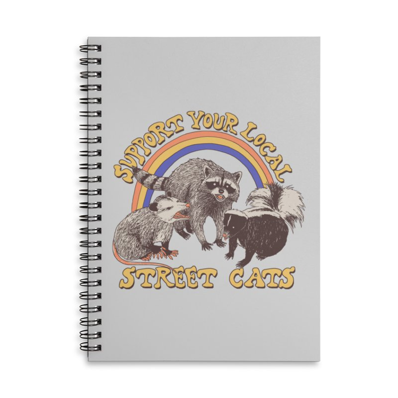 Street Cats Accessories Notebook by Hillary White