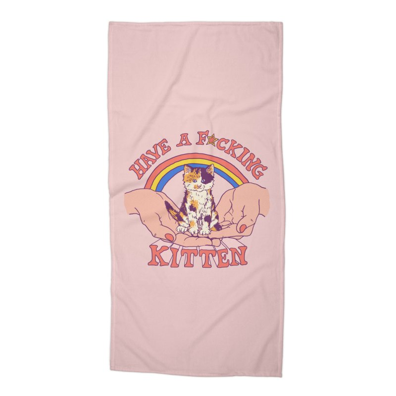 Have A Kitten Accessories Beach Towel by Hillary White