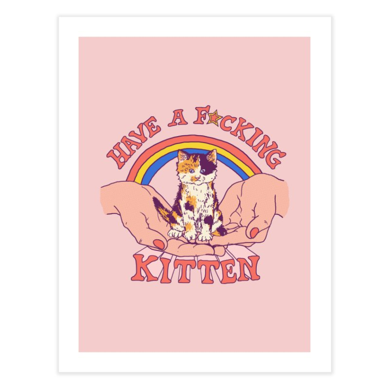 Have A Kitten Home Fine Art Print by Hillary White