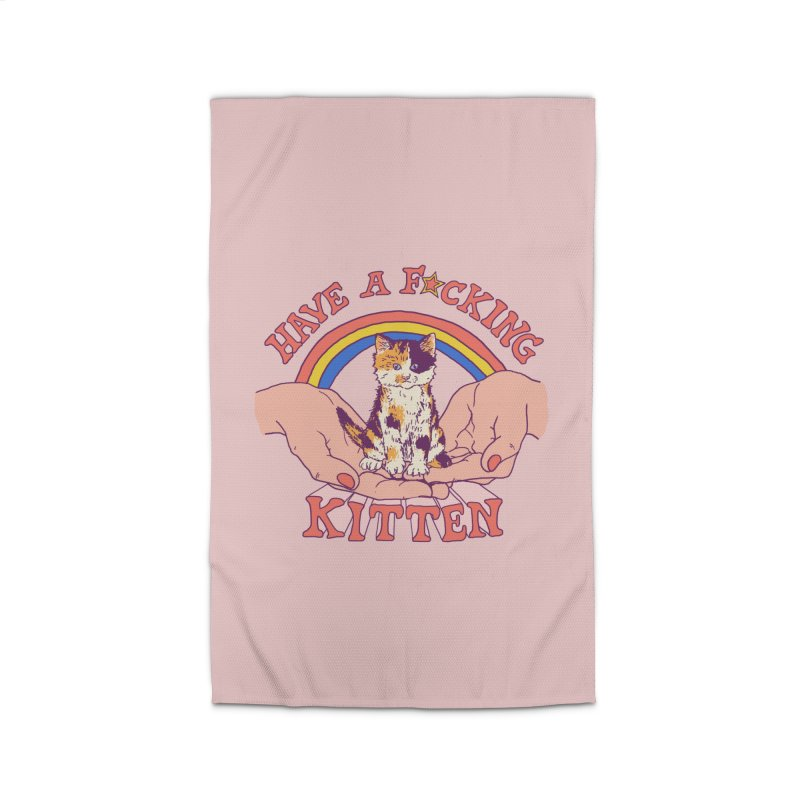 Have A Kitten Home Rug by Hillary White