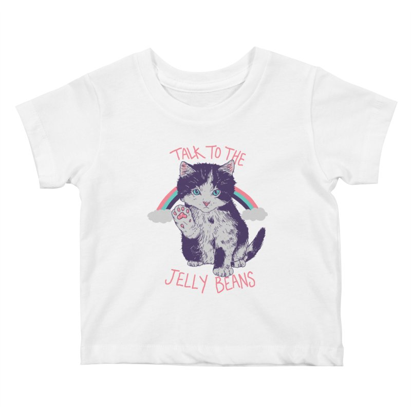 Talk To The Jelly Beans Kids Baby T-Shirt by Hillary White