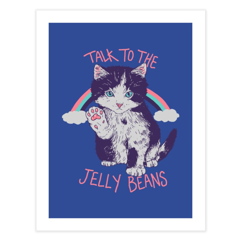 Talk To The Jelly Beans Home Fine Art Print by Hillary White