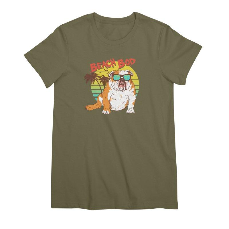 Beach Bod Women's Premium T-Shirt by Hillary White