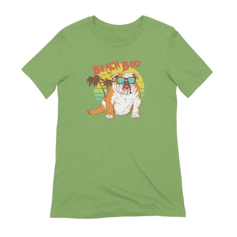 Beach Bod Women's Extra Soft T-Shirt by Hillary White