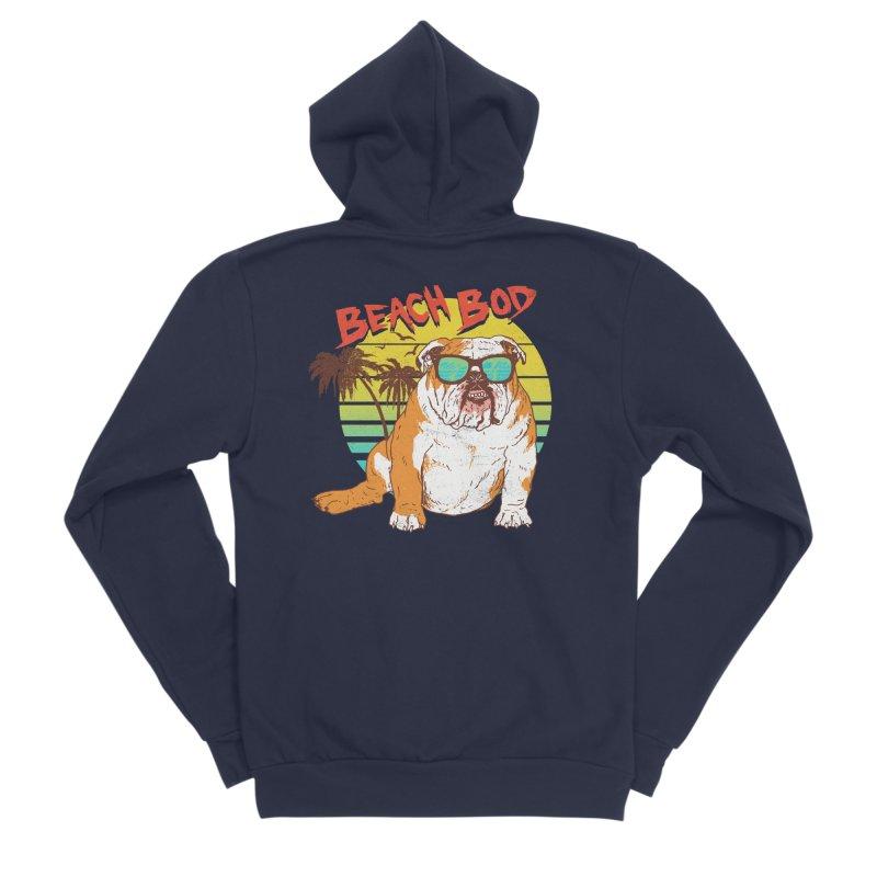 Beach Bod Women's Sponge Fleece Zip-Up Hoody by Hillary White