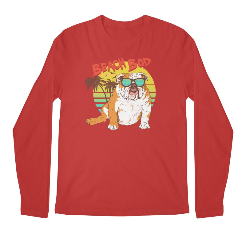 Beach Bod Men's Regular Longsleeve T-Shirt by Hillary White
