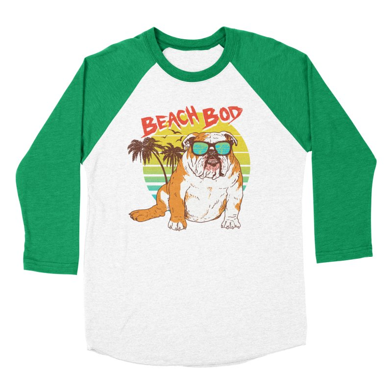 Beach Bod Women's Baseball Triblend Longsleeve T-Shirt by Hillary White