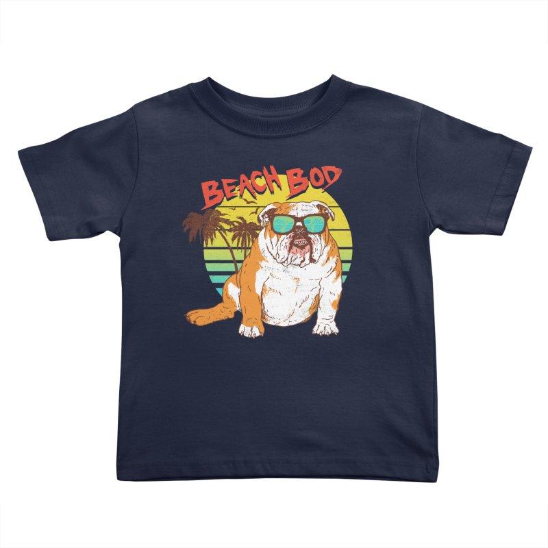 Beach Bod Kids Toddler T-Shirt by Hillary White