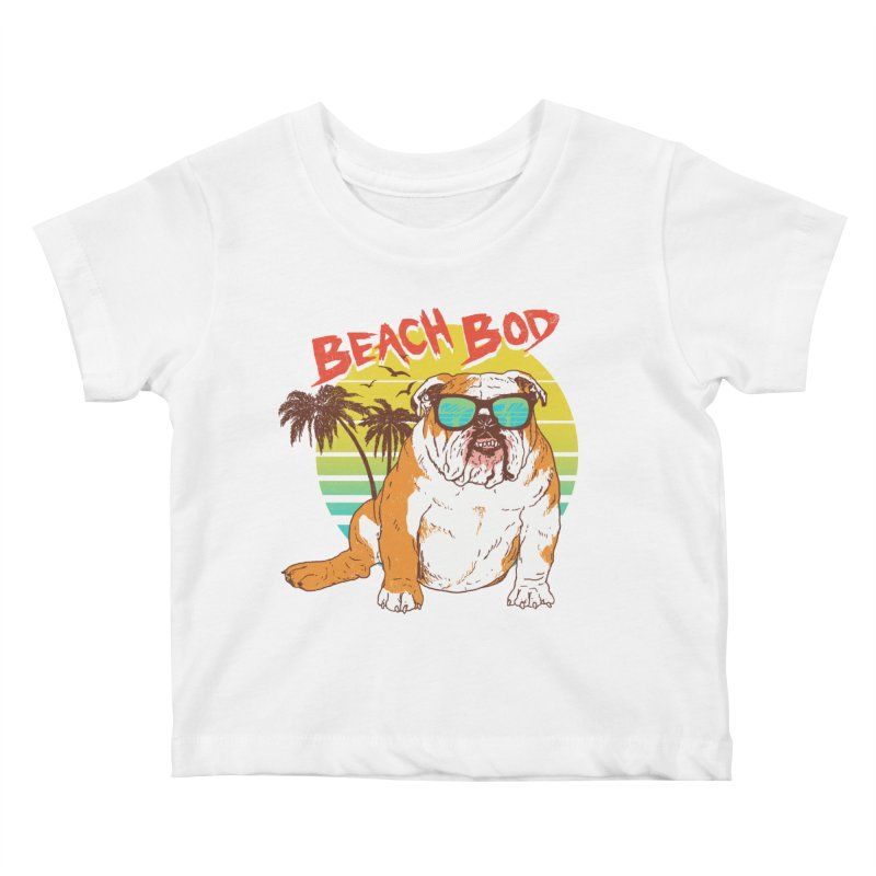 Beach Bod Kids Baby T-Shirt by Hillary White