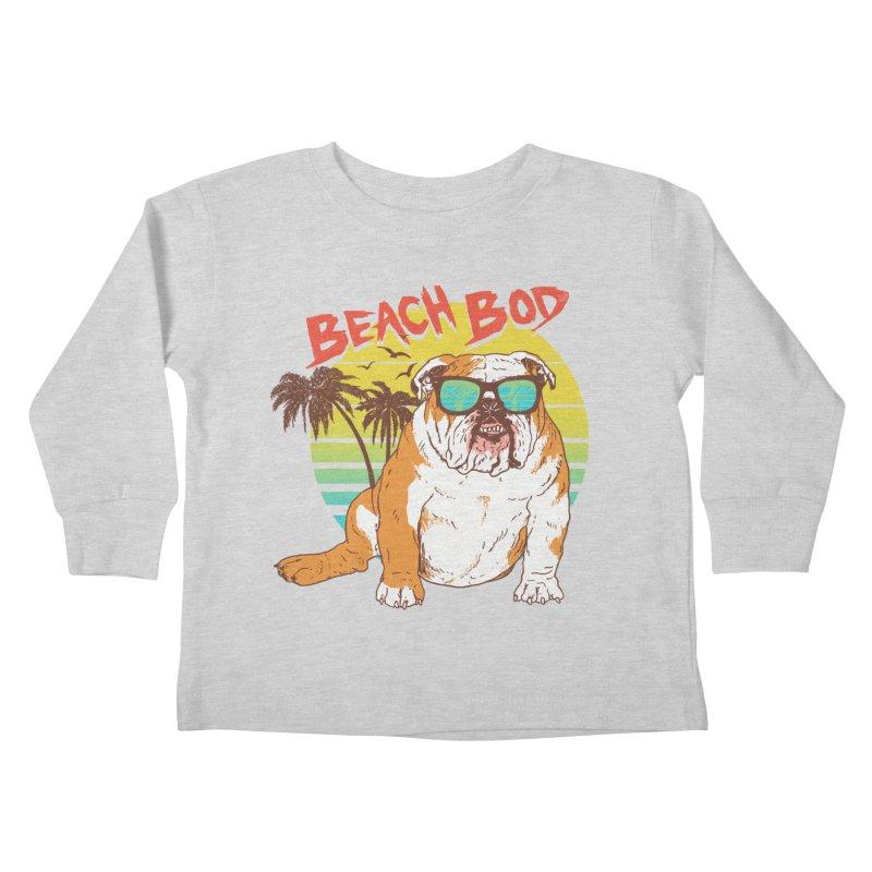 Beach Bod Kids Toddler Longsleeve T-Shirt by Hillary White