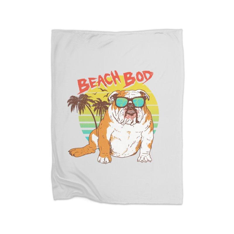 Beach Bod Home Fleece Blanket Blanket by Hillary White