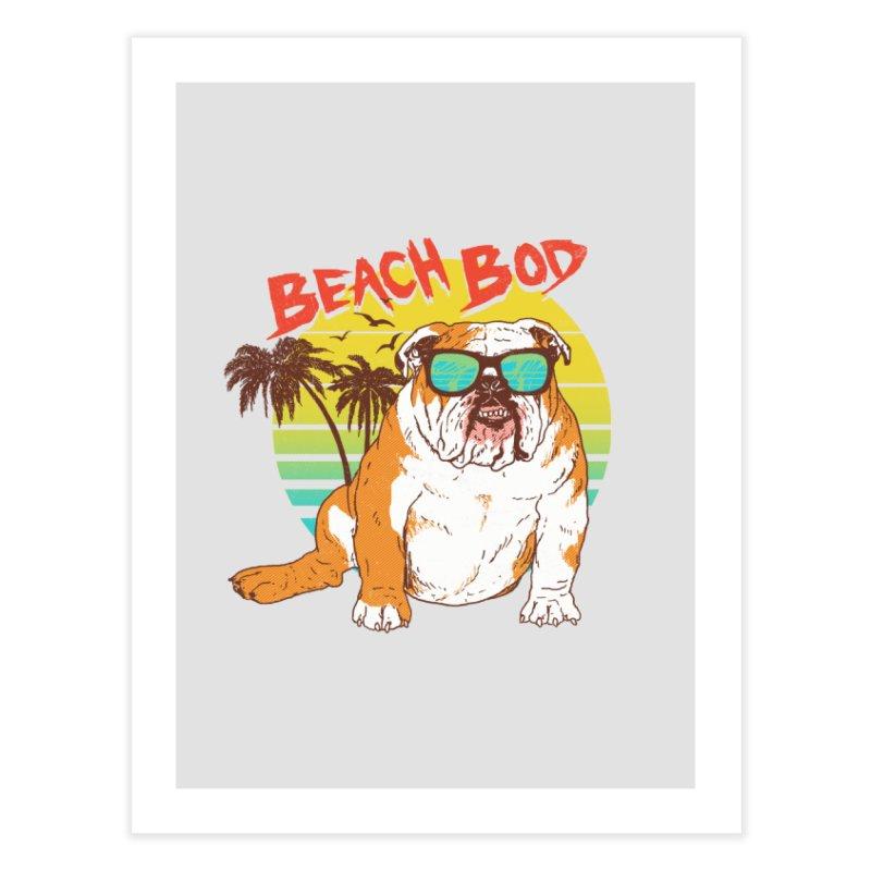 Beach Bod Home Fine Art Print by Hillary White