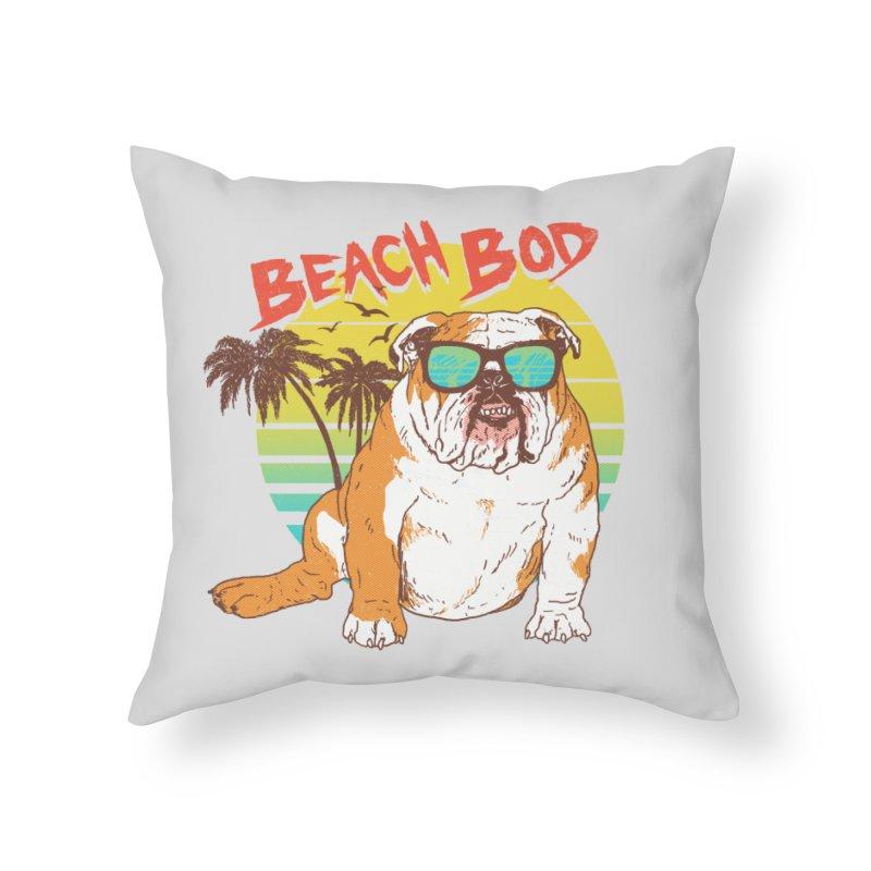 Beach Bod Home Throw Pillow by Hillary White