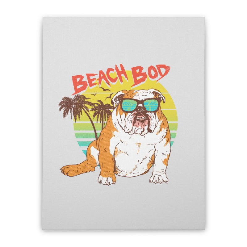 Beach Bod Home Stretched Canvas by Hillary White