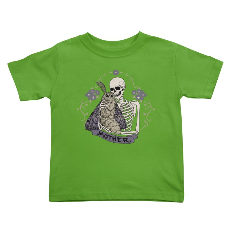 Mother Kids Toddler T-Shirt by Hillary White