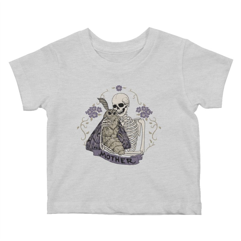Mother Kids Baby T-Shirt by Hillary White