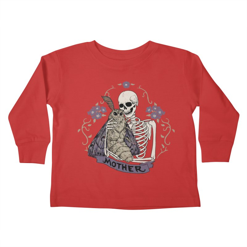 Mother Kids Toddler Longsleeve T-Shirt by Hillary White