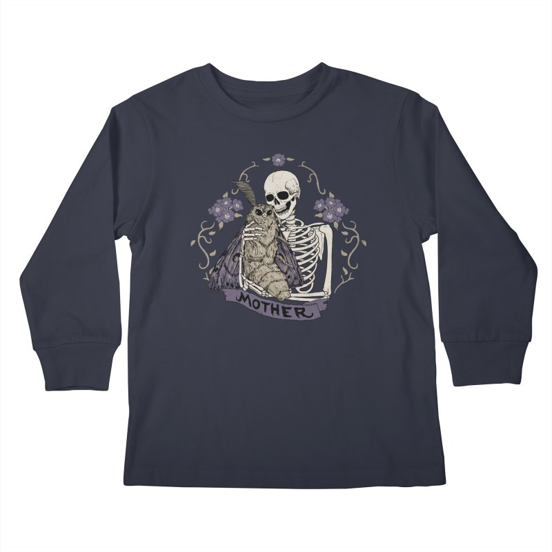 Mother Kids Longsleeve T-Shirt by Hillary White