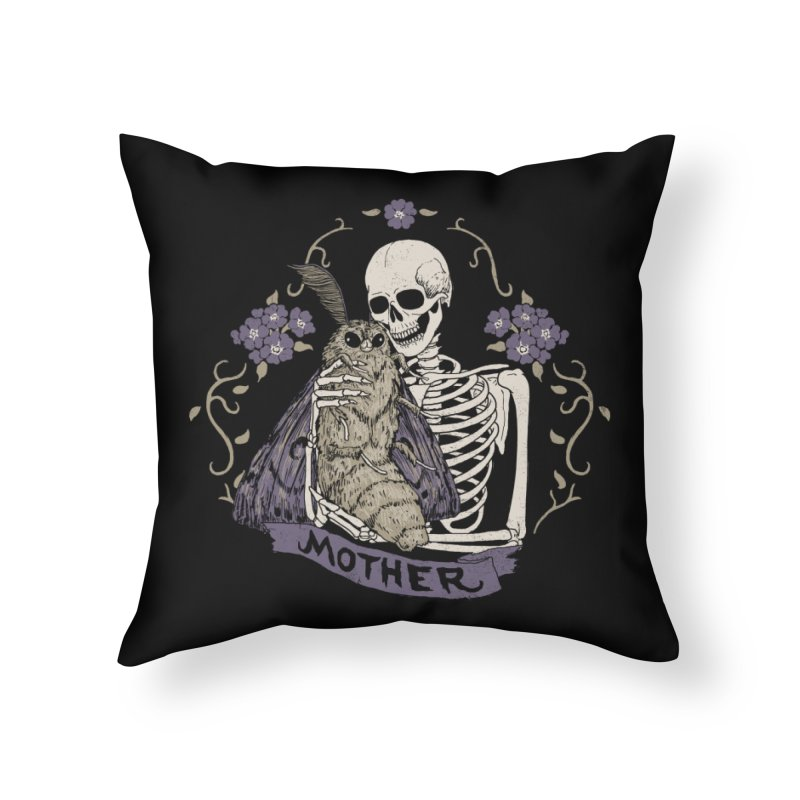 Mother Home Throw Pillow by Hillary White