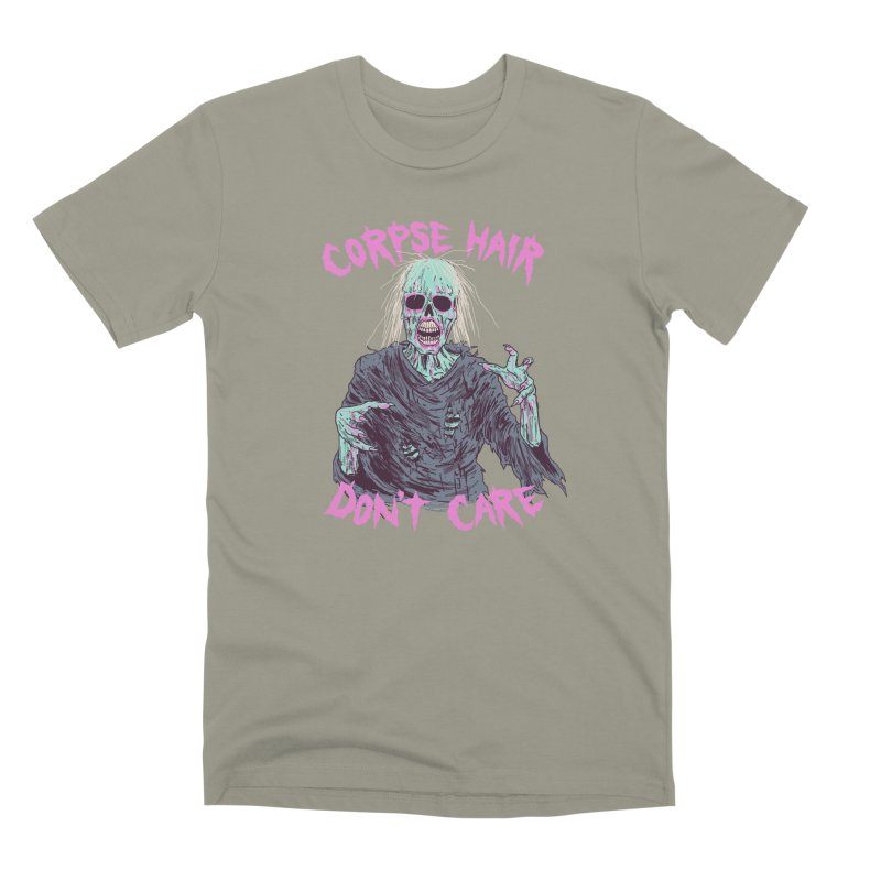 Corpse Hair Don't Care Men's Premium T-Shirt by Hillary White