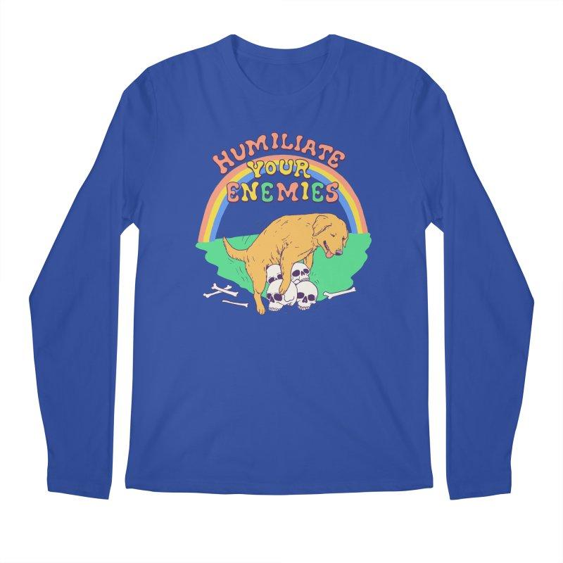 Humiliate Your Enemies Men's Regular Longsleeve T-Shirt by Hillary White